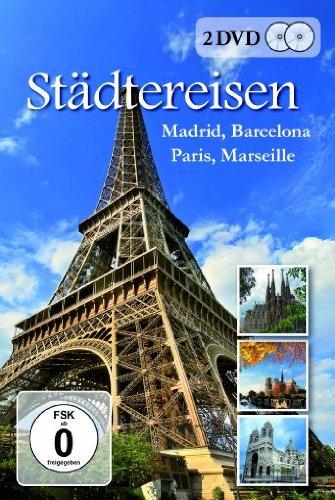 Städtereisen - Madrid, Barcelona, Paris, Marseille [2 DVDs]