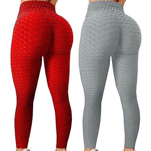 Leggings de Yoga, elásticos, para mujer, fitness, running, gimnasio, deportes, pantalones activos, running,...