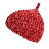 (カジュアルボックス)CasualBox ベビー REOM コットン どんぐりワッチ 5色 ベビーサイズ 赤ちゃん ニット帽 出産祝いニットキャップ charm チャーム (レッド)