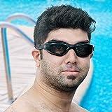 Adulto Gafas de natación Profesional Espejo Vasos - Anti-Niebla - Silicona Impermeable - Tintado Gafas de Natación con Estuche - Protección UV - Triatlón Gafas Unisex para Adultos Hombres Mujeres