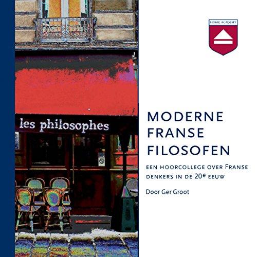 Moderne Franse Filosofen audiobook cover art