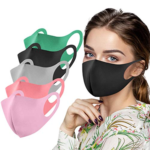 Reasoncool Erwachsene Waschbare Eisseide Bandana Atmungsaktiv Wiederverwendbare Stoff Sonnenschutz Mittlere Naht Vorsprung Nasenrücken Bandana