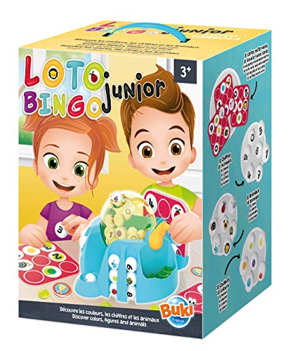 Buki France- Loto Junior Juego, Multicolor (5602)