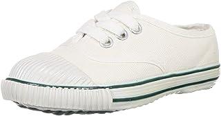 BATA Unisex Kid's Tennis White School Shoes-9 (2391079)