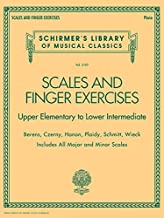 Scales and Finger Exercises: Schirmer Library of Classic Volume 2107 (Schirmer's Library of Musical Classics)