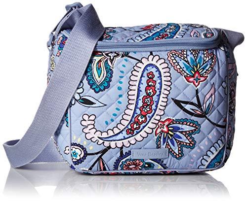 Vera Bradley Women's Signature Cotton Stay Cooler Lunch Bag, Makani Paisley