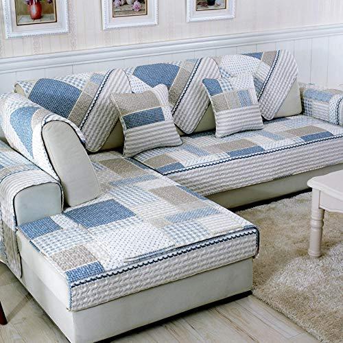 Fundas Sofa Chaise,forro de sofa forma de L,Funda de sofá de 2/3/4 plazas para sala de estar,fundas de sofá de esquina,funda de sofá universal,protector de sofá de 4 estaciones-UNA_Los 90 * 180cm