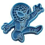 Cuticuter Spiderman Chibi Supereroi di Biscotti, Blu, 8x 7x 1.5cm