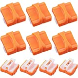 10 Pieces Paper Cutter Replacement Blade Paper Trimmer Replacement Blade Cutting Replacement Blades Paper Trimmer Blades Refill for A4 Black and White Paper Trimmer (Orange)