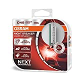 OSRAM XENARC NIGHT BREAKER LASER D4S, + 200%, xenón, 66440XNL-HCB, set de 2