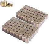 108 piezas Rollos de Moxa sin humo, Rollo de barra de Moxa, Kit de rollo de moxibustión de compresión en caliente Puede calentar el tejido profundo debajo de la piel adecuado para trabajar mientras