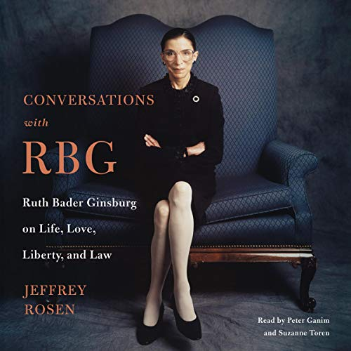 Conversations with RBG audiobook cover art
