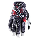 O'Neal Jump Hustler Full Finger Mountain Enduro Motocross Dirt, Guanti da Ciclismo Uomo, Red/White/Grey/Black, M
