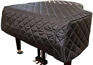 Custom Made Piano Covers/Baby Grand Piano Cover Quilted Black (5'0