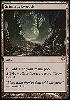 Magic  the Gathering - Grim Backwoods  156  - Dark Ascension