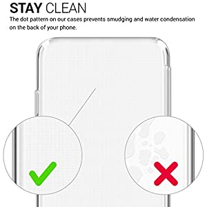 kwmobile Crystal Case Cover for Huawei Y6 Pro (2017) / Enjoy 7 made of TPU Silicone - transparent clear Protection Case in transparent