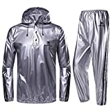 CAMEL CROWN Weight Loss Sweat Suit, Heavy Duty Sweat Sauna Suit...