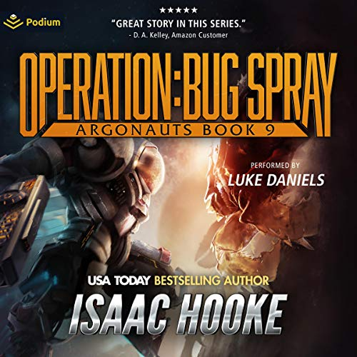 Operation: Bug Spray Audiobook By Isaac Hooke cover art
