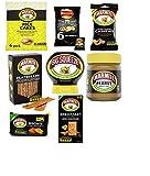 Marmite caja de regalo - La mejor caja de regalo para amantes de las marmitas jumbo para aquellos que aman el tesoro de Marmite para cualquier ocasión para cualquier persona - vegano