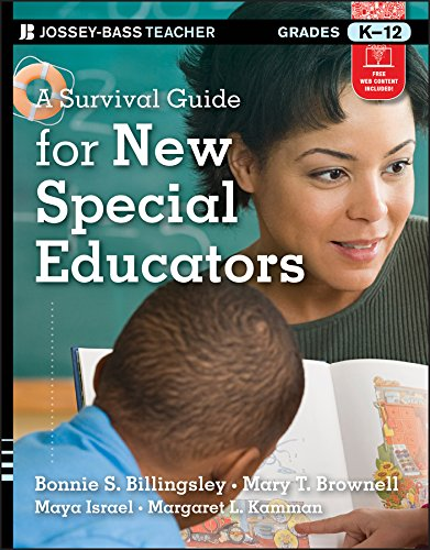 Compare Textbook Prices for A Survival Guide for New Special Educators 1 Edition ISBN 9781118095683 by Billingsley, Bonnie S.,Brownell, Mary T.,Israel, Maya,Kamman, Margaret L.