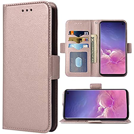 Asuwish Galaxy S10 Wallet Case,Leather Phone Cases with Magnetic Closure Credit Card Holder Slot Kickstand Flip Folio TPU Protective Cover for Samsung Galaxy S 10 Edge 10S SX SX10 GS10 Women Men Blue