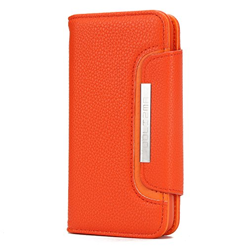 Harrms iphoneXR ケース 手帳型 iphoneXS Max iphoneXS/X iphone7/8 iphone7P/8P アイフォン保護 レザーケース カバー 財布型 保護ケース 名刺入れ 小銭入れ カード入れ マグネット留め具付き
