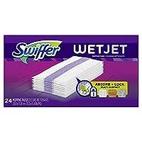 Swiffer WetJet Hardwood Floor, Wet Jet Spray Mop Pad Refills スウィーパーウェットジェットハードウッドフロア、ウェットジェットスプレーモップパッドリフィル [並行輸入品]