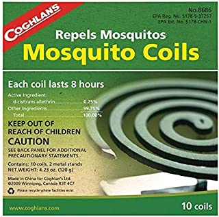 Coghlan's Mosquito Coils 10Pcs