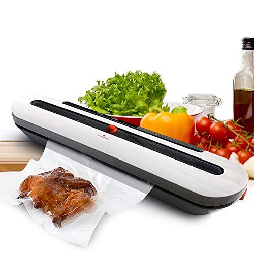 JYDAN Vakuumierer,3-in-1 Automatische Lebensmittel Versiegelung Mit Foodlocker Folienschweißgerät Für Trockene Und Feuchte Lebensmittel Mit