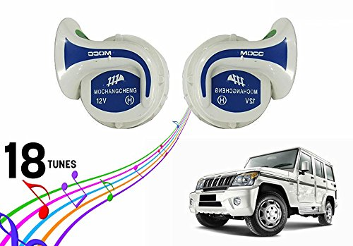 Vocado Mocc 18 in 1 Digital Tones Car Magic Horn Set of 2-Mahindra Bolero