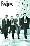 The Beatles (Walking Down Street) Music Poster Print - 24x36