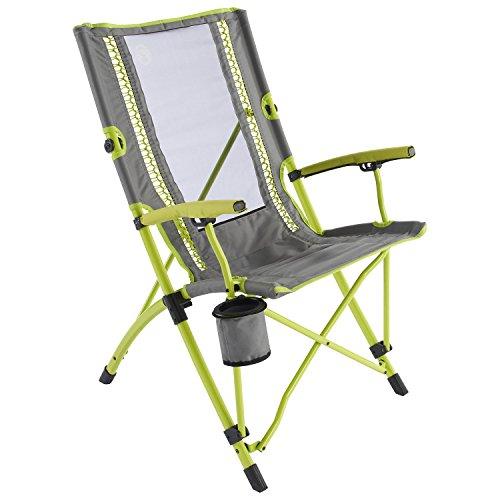 Coleman Bungee Chair Faltstuhl, gelb-grau, One Size