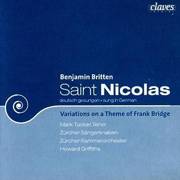 Britten: Saint Nicolas (Live Recording) & Frank Bridge Variations