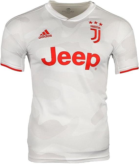 Amazon.com: adidas 2019-20 Juventus Authentic Away Jersey - Grey ...
