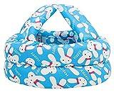 Bellady Infant, Toddler & Baby Child Helmet Cushion Bonnet,Rabbit