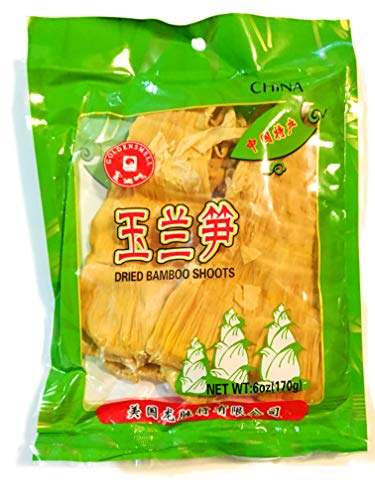 Golden Smell Dried Bamboo Shoots 6 Oz(2 Pack)
