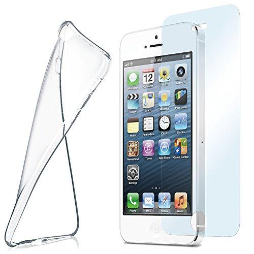 MoEx Funda de Silicona Compatible con iPhone 5s / 5 / SE...