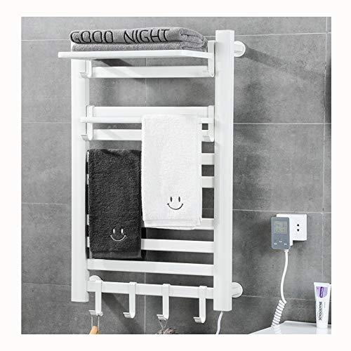ACEWD Toallero Electrico con Temporizador,Secatoallas Electrico Pared,Calienta Toallas Electrico Bajo Consumo,Radiador Toallero...