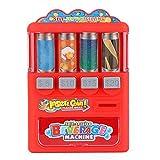 Ruby569y Juego de juguetes de simulación, bebidas máquina expendedora educación juego de compras niño niña juego casa juguete - rojo