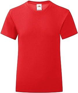 Fruit of the Loom - Camiseta Modelo Iconic para niñas