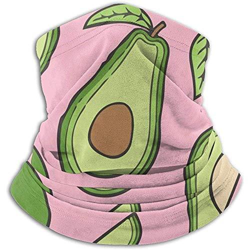 NA Mikrofaser Nackenwärmer Weihnachtsgeschenk Avocado Pink Girl Like Neck Gaiter Tube Ohrenwärmer Stirnband Schal Gesichtsmaske Sturmhaube
