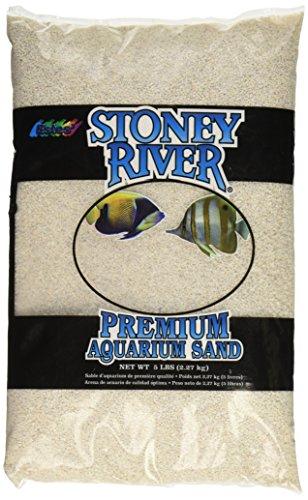 Stoney River White Aquatic Sand Freshwater and Marine Aquariums