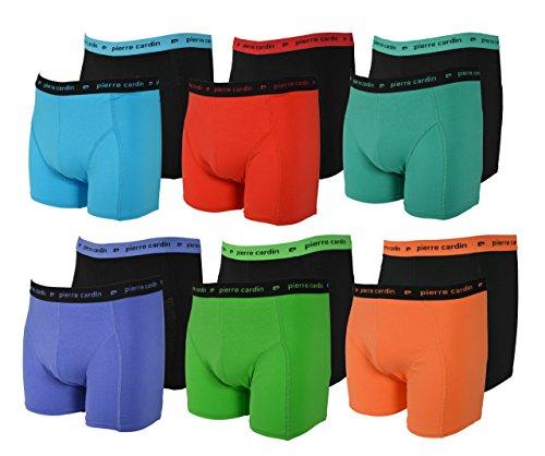 Pierre Cardin - 12 Stück modische Boxershorts Marke, Style: 12er Spar-Set Gr. L, Farben gemischt männer Herren Retropants Herren retropant Enge Boxershorts Herren dunkle helle