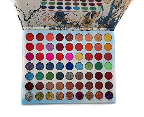 Paletas De Maquillaje Brillosos marca Magyssu