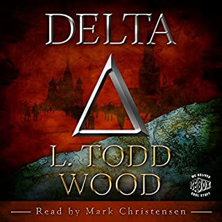 DELTA audiobook cover art
