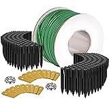 ONVAYA® Accesorios para robot cortacésped, juego de reparación que incluye cable limitador para robot cortacésped,...