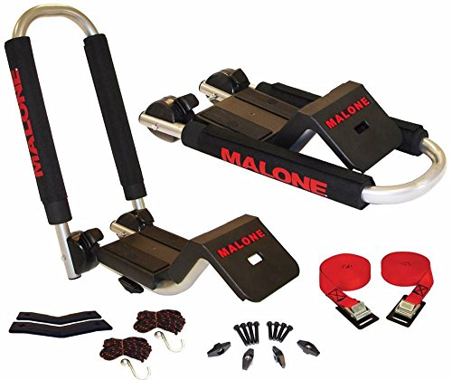 Malone Downloader Folding J-Style Universal Car Rack Kayak...