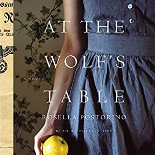 At the Wolf's Table     A Novel              Written by:                                                                                                                                 Rosella Postorino,                                                                                        Leah Janeczko - translator                               Narrated by:                                                                                                                                 Polly Stone                      Length: 10 hrs and 35 mins     5 ratings     Overall 3.4