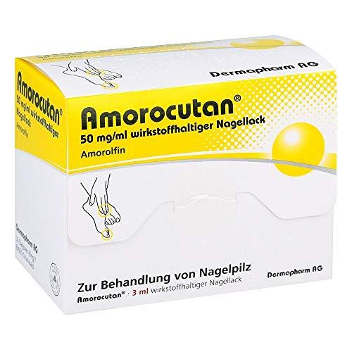 Amorocutan 50 mg/ml wirkstoffhaltiger Nagellack, 3 ml