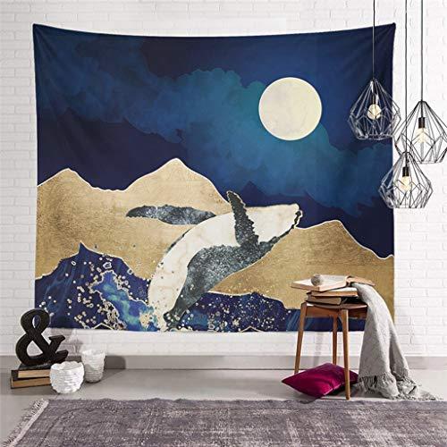 FUSHX tapizTapiz de Paisaje Natural para Colgar en la Pared, Toalla de Playa, Chal, Sábana, decoración de la habitación del hogar